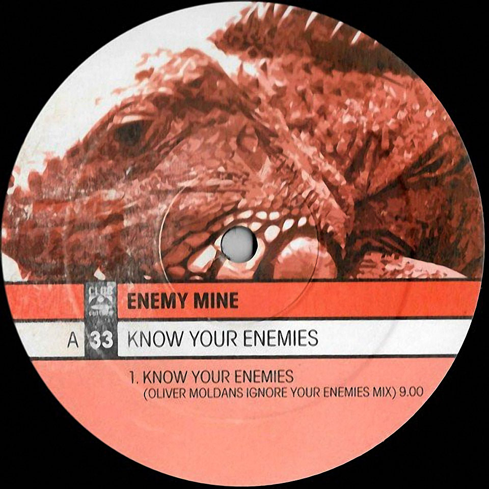 Cover Enemy Mine